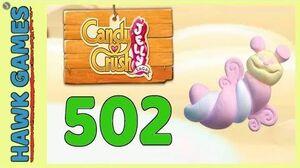 Candy Crush Jelly Saga Level 502 (Puffler mode) - 3 Stars Walkthrough, No Boosters
