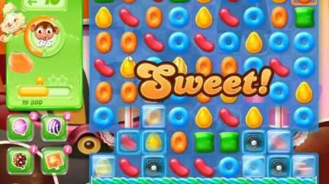 Candy Crush Jelly Saga Level 393 - NO BOOSTERS
