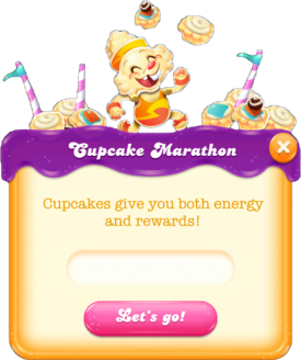 Cupcake Marathon message