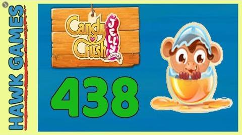 Candy Crush Jelly Saga Level 43 (Monkling mode) - 3 Stars Walkthrough, No Boosters
