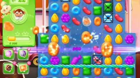 Candy Crush Jelly Saga Level 385 - NO BOOSTERS