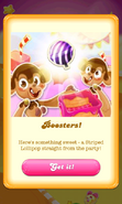 Free Gift Striped lollipop hammer Jelly Queen's party 4