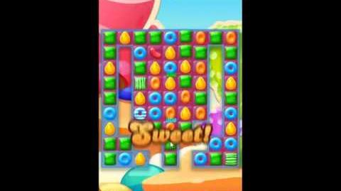 Candy Crush Jelly Saga Level 207 - NO BOOSTERS