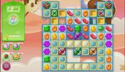 Stars on game board level 712 glitch