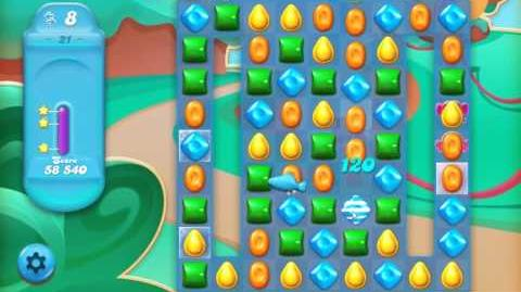 Candy Crush Jelly Saga Level 21
