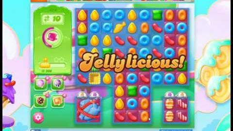 Candy Crush Jelly Saga Level 474 No Booster 3 Stars