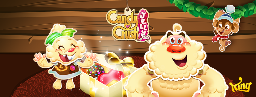 image candy crush jelly saga christmas background 2016 cover png