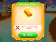 Purchase failed screen