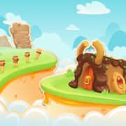 Cookie Crust Cliffs background
