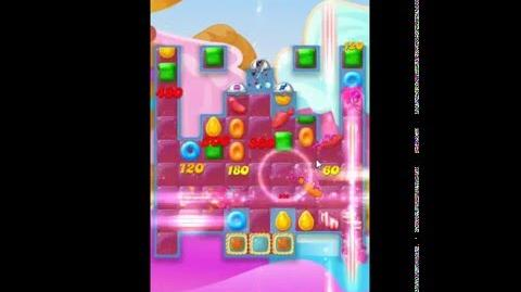 Candy Crush Jelly Saga Level 124 No Boosters