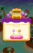 Boss Treasures Tasty Treasure Earned