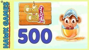 Candy Crush Jelly Saga Level 500 Super hard (Monkling mode) - 3 Stars Walkthrough, No Boosters