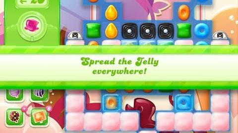 Candy Crush Jelly Saga Level 887 (3 star, No boosters)
