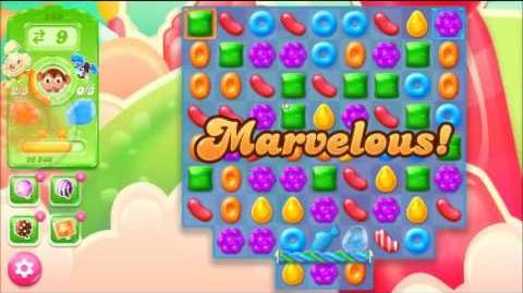 Candy Crush Jelly Saga Level 280 - NO BOOSTERS MARZIPAN MEADOW COMPLETED