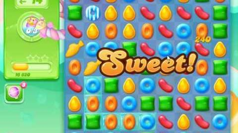 Candy Crush Jelly Saga Level 7 (Facebook) No Boosters 3 Stars!