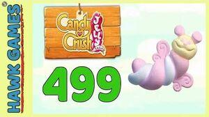 Candy Crush Jelly Saga Level 499 (Puffler mode) - 3 Stars Walkthrough, No Boosters
