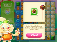 Color Bomb Lollipop Hammer instruction 3