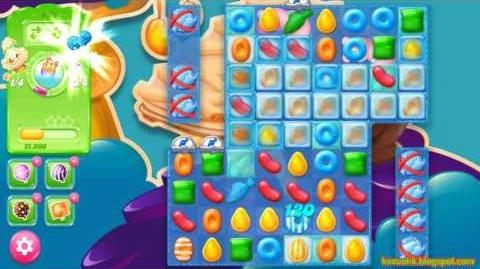 Candy Crush Jelly Saga Level 436 (3 star, No boosters)