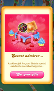 Free Gift Secret admirer Color bomb Wrapped lollipop hammer Valentine 2018