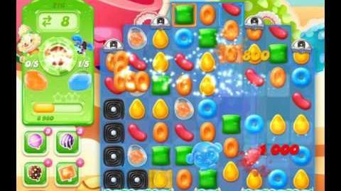 Candy Crush Jelly Saga Level 216