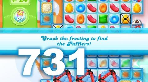 Candy Crush Jelly Saga Level 731 (No boosters)
