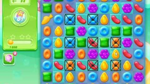 Candy Crush Jelly Saga Level 9 (Facebook) No Boosters 3 Stars!