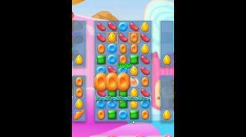 Candy Crush Jelly Saga Level 121 No Boosters - Meet the Monklings!