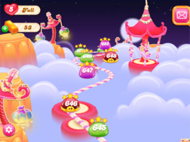 Jellytastic Fun Park Map 2