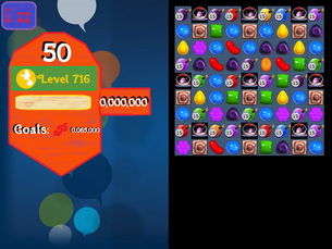 Super Saga Level 736