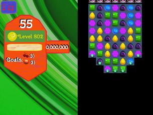 Super Saga Level 802