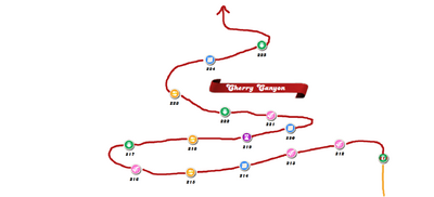 Cherry Canyon Map