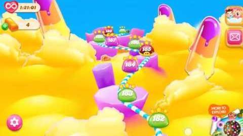 Candy Crush Jelly Saga - Map