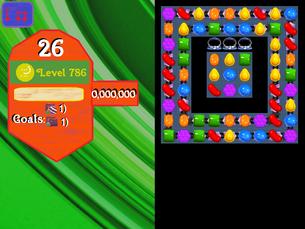 Super Saga Level 786