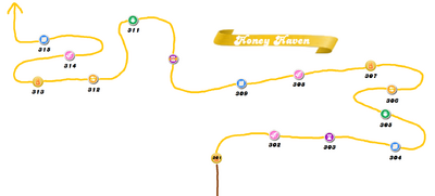 Honey Haven Map