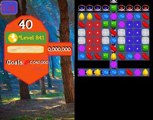 Super Saga Level 841 Unreleased