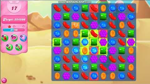Candy Crush Saga - Jelly Color Game Mode