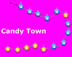 Candy Town TCCS Map