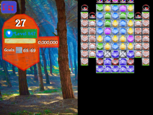Super Saga Level 847
