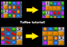 Toffee spreading tutorial