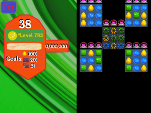 Super Saga Level 783