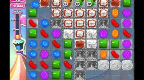 Candy Crush Saga Level 174 - 1 Star - no boosters