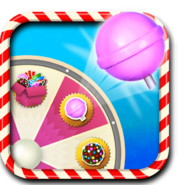 Lollipop Hammer booster wheel icon