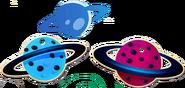 Planets cardboard