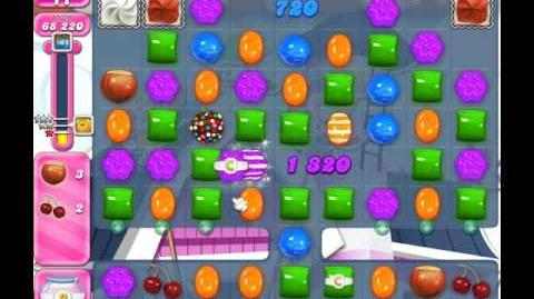 Candy Crush Saga Level 1886 ( New with 4 Candy Colours ) No Boosters 3 Stars