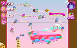 Raspberry Races Map Mobile