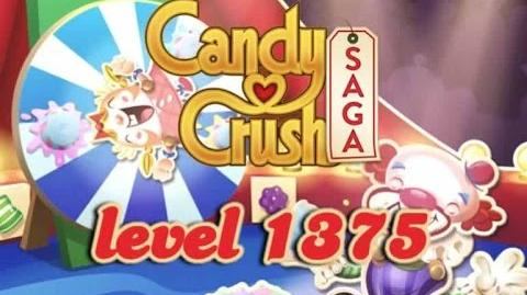 Candy Crush Saga Level 1375