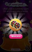 A sweet peek Prizes