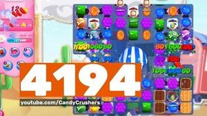 Candy Crush Saga - Level 4194 - No boosters ☆☆☆