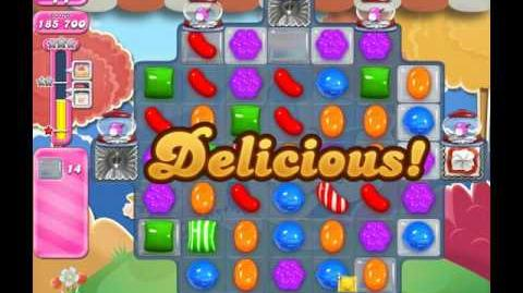 Candy Crush Saga Level 1686 ( New with 32 Moves ) No Boosters 2 Stars