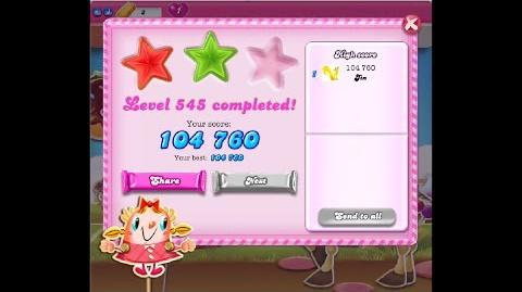 Candy Crush Saga Level 545 ★★ NO BOOSTER